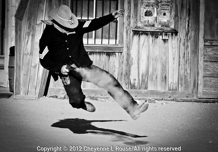 Old West Gunfight at Old Tucson Movie Studio - Arizona