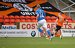 Dundee United v St Johnstone...27.09.14  SPFL<br /> Chris Erskine opens the scoring for Dundee United<br /> Picture by Graeme Hart.<br /> Copyright Perthshire Picture Agency<br /> Tel: 01738 623350  Mobile: 07990 594431
