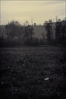 """Old tower<br /> From """"Russian river"""" series<br /> Yelabuga, Russia, 2010"""