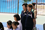 (L to R) <br /> Masako Kaneko, <br />  Masayo Imura (JPN), <br /> AUGUST 10, 2014 - Synchronised Swimming : <br /> Japan Synchro Challenge Cup 2014 <br /> Exhibition <br /> Team Free combinations <br /> at Tatsumi International Swimming Pool, Tokyo, Japan. <br /> (Photo by YUTAKA/AFLO SPORT)