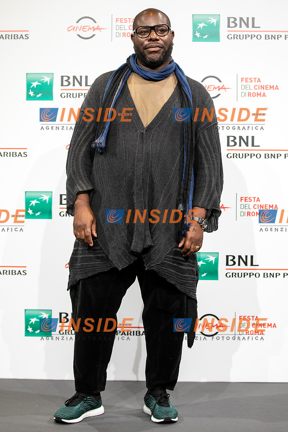 Director Steve McQueen poses for photographers for the photo call of the film Small Axe during the 15th edition of Rome film Fest.<br /> Rome (Italy), October 16th 2020<br /> Photo Pool Insidefoto