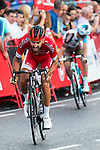 Loie Chetout during La Vuelta a España 2016 in Madrid. September 11, Spain. 2016. (ALTERPHOTOS/BorjaB.Hojas)