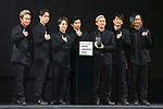"""Japanese pop group DA PUMP attends the """"LINE News Awards 2018"""" in Tokyo, Japan on Monday, December 10, 2018. (Photo by Pasya/AFLO)"""