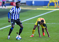 Sheffield Wednesday's Dominic Iorfa gets away from Watford's Joao Pedro<br /> <br /> Photographer Alex Dodd/CameraSport<br /> <br /> The EFL Sky Bet Championship - Sheffield Wednesday v Watford - Saturday 19th September 2020 - Hillsborough Stadium - Sheffield <br /> <br /> World Copyright © 2020 CameraSport. All rights reserved. 43 Linden Ave. Countesthorpe. Leicester. England. LE8 5PG - Tel: +44 (0) 116 277 4147 - admin@camerasport.com - www.camerasport.com
