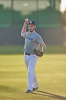 Blake Borck (47), from Hudson, Michigan, while playing for the Tigers during the Under Armour Baseball Factory Recruiting Classic at Gene Autry Park on December 27, 2017 in Mesa, Arizona. (Zachary Lucy/Four Seam Images)