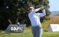 Julianne Alvarez. Day one of the Renaissance Brewing NZ Stroke Play Championship at Paraparaumu Beach Golf Club in Paraparaumu, New Zealand on Thursday, 18 March 2021. Photo: Dave Lintott / lintottphoto.co.nz