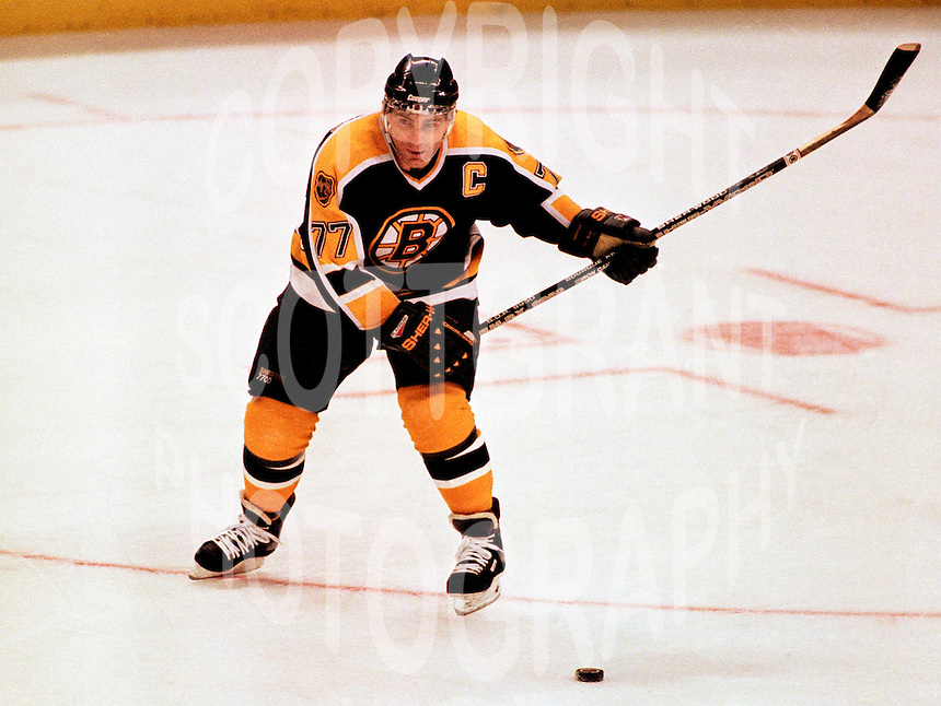 Ray Bourque Boston Bruins. Photo copyright F. Scott Grant