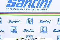 Picture by Simon Wilkinson/SWpix.com - 24/09/2020 - Cycling - UCI 2020 Road World Championships IMOLA - EMILIA-ROMAGNA ITALY - Individual Time Trial Women Elite -<br /> The Brief - SANTINI