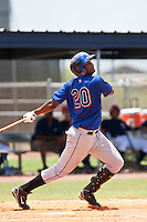Julio Concepcion of the Gulf Coast League Mets during the game against the Gulf Coast League Nationals June 27 2010 at the Washington Nationals complex in Viera, Florida.  Photo By Scott Jontes/Four Seam Images