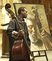 2003 File Photo ,of jazz musician Charles Biddle.<br /> <br />  Copyright : Images Distribution