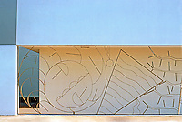 Venice CA: Doumani House, Detail.  Robert Graham. Photo '86.