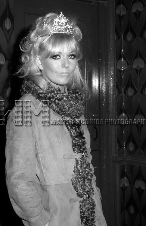 Kim Novak  on February 14, 1973 in New York City.