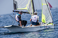 Genoa, Italy is hosting sailors for the third regatta of the 2019 Hempel World Cup Series from 15-21 April 2019. More than 700 competitors from 60 nations are racing across eight Olympic Events.©JESUS RENEDO/SAILING ENERGY/WORLD SAILING<br /> 17 April, 2019.