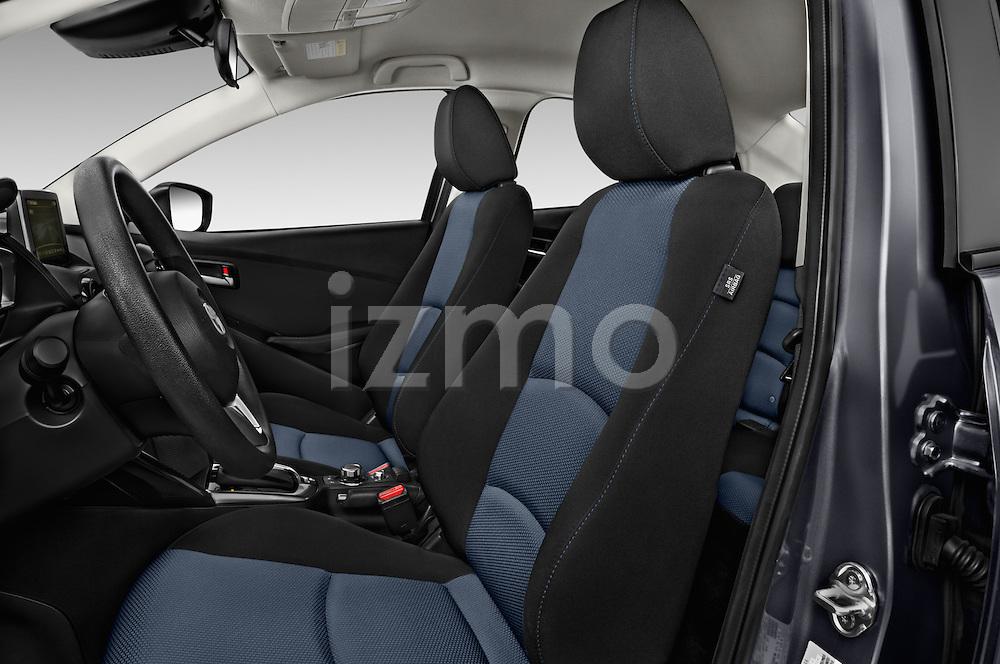 Front seat view of 2018 Toyota Yaris-iA AT 4 Door Sedan Front Seat  car photos