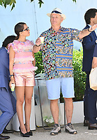CANNES, FRANCE. July 13, 2021: Lyna Khoudri & Bill Murray at the photocall for Wes Anderson's The French Despatch at the 74th Festival de Cannes.<br /> Picture: Paul Smith / Featureflash