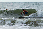 Folly Beach Surfer Surfing waves south carolina