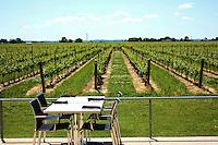 Table at a Niagara on the Lake vineyard