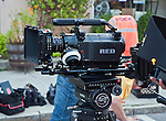 The Red One digital cinema camera.