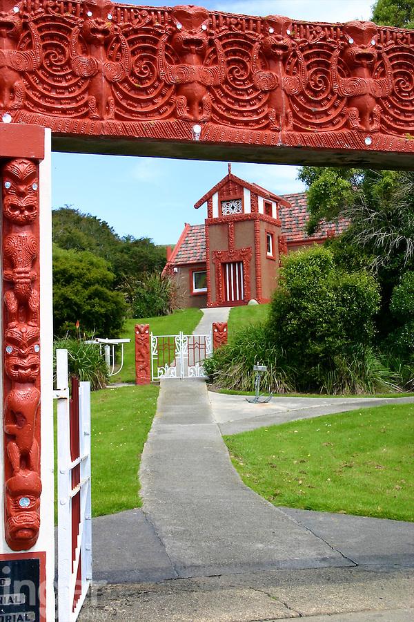 Otakou Marae in Otago, New Zealand