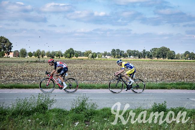 Tosh Van der Sande (BEL/Lotto-Soudal) and Kenny De Ketele (BEL/Sport Vlaanderen-Baloise)<br /> <br /> <br /> Heistse Pijl 2020<br /> One Day Race: Heist-op-den-Berg > Heist-op-den-Berg 190km  (UCI 1.1)<br /> ©kramon