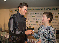 ABN AMRO World Tennis Tournament, Rotterdam, The Netherlands, 15 Februari, 2017, meet and greet with Thiem<br /> Photo: Henk Koster
