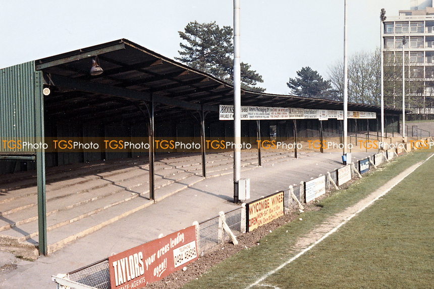 Loakes Park - Wycombe Wanderers Football Club 1990 - scanned 13/09/07  - MANDATORY CREDIT: Gavin Ellis/TGSPHOTO - SELF-BILLING APPLIES WHERE APPROPRIATE. NO UNPAID USE. TEL: 0845 094 6026..