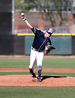 Cal Quantrill - San Diego Padres 2019 spring training (Bill Mitchell)