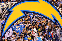 Dec. 20, 2015. San Diego,  CA. USA.|Fans at the Chargers vs Dolphins game at the Q. |Photos by Jamie Scott Lytle. Copyright.
