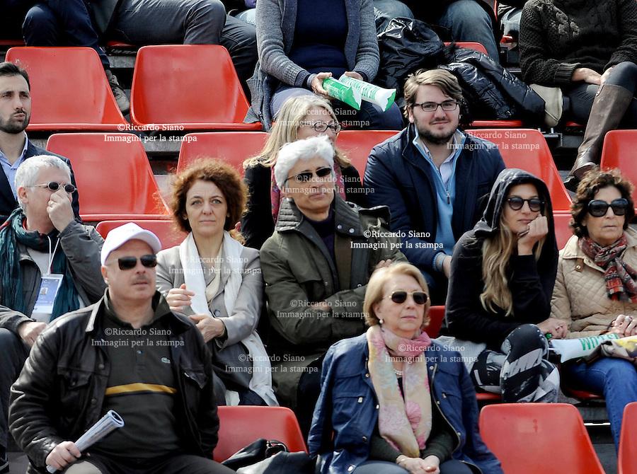 - NAPOLI 5 APR -   Seconda  giornata della sfida di Coppa Davis tra Italia e Gran Bretagna, nella foto  soprintendente  Cozzolino