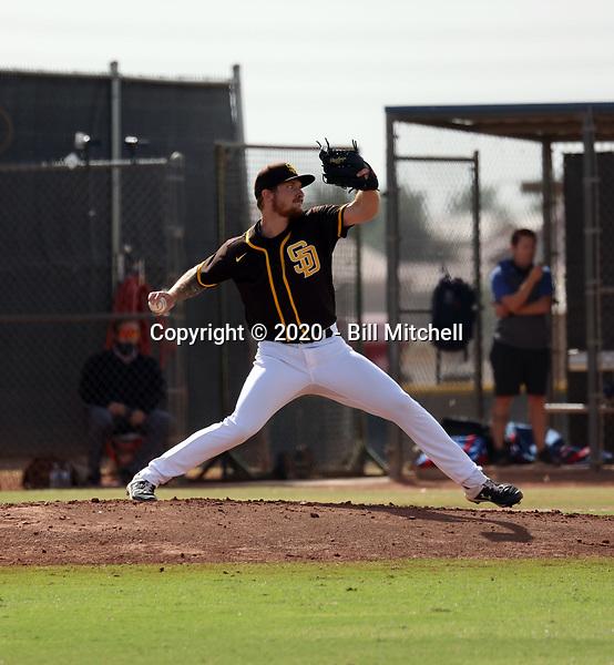 Mason Fox - 2020 AIL Padres (Bill Mitchell)