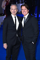 """John Deluca and Rob Marshall<br /> arriving for the """"Mary Poppins Returns"""" premiere at the Royal Albert Hall, London<br /> <br /> ©Ash Knotek  D3467  12/12/2018"""