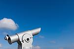 Deutschland, Bayern, Chiemgau, Prien am Chiemsee: monokulares Fernrohr | Germany, Upper Bavaria, Chiemgau, Prien at Lake Chiemsee: monocular telescope