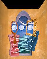 Digital illustration: Lovers Ties.