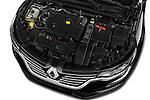 Car Stock 2016 Renault Talisman Initiale-Paris 5 Door Wagon Engine  high angle detail view