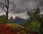 Storm Light over Sedona, Arizona