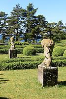 Garten der Villa Muramaris auf der Insel Gotland, Schweden, Europa<br /> garden of Villa Muramaris,  Isle of Gotland, Sweden