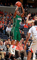 CHARLOTTESVILLE, VA- NOVEMBER 26:  Steve Baker #4 of the Green Bay Phoenix shoots the ball during the game on November 26, 2011 at the John Paul Jones Arena in Charlottesville, Virginia. Virginia defeated Green Bay 68-42. (Photo by Andrew Shurtleff/Getty Images) *** Local Caption *** Steve Baker
