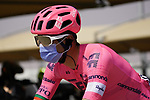 Ruben Guerreiro (POR) EF Education-Nippo heads to sign on before the start of Stage 3 of the 2021 UAE Tour running 166km from Al Ain to Jebel Hafeet, Abu Dhabi, UAE. 23rd February 2021.  <br /> Picture: Eoin Clarke | Cyclefile<br /> <br /> All photos usage must carry mandatory copyright credit (© Cyclefile | Eoin Clarke)