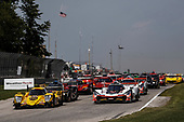 #85 JDC/Miller Motorsports ORECA 07, P: Simon Trummer, Robert Alon, #7 Acura Team Penske Acura DPi, P: Helio Castroneves, Ricky Taylor, start
