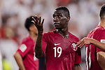 Ismail Ahmed Mohamed of United Arab Emirates gestures during the AFC Asian Cup UAE 2019 Semi Finals match between Qatar (QAT) and United Arab Emirates (UAE) at Mohammed Bin Zaied Stadium  on 29 January 2019 in Abu Dhabi, United Arab Emirates. Photo by Marcio Rodrigo Machado / Power Sport Images