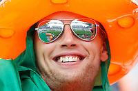 A Netherlands fan