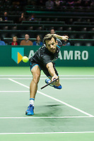 Rotterdam, The Netherlands, February 12, 2016,  ABNAMROWTT, Philipp Petzschner (GER)<br /> Photo: Tennisimages/Henk Koster