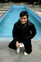 Le cineaste Jean-Jacques Beinex dans les annes 80 (date exacte inconnue)<br /> <br /> PHOTO : harold Beaulieu -  Agence Quebec Presse