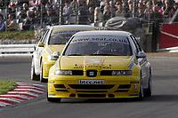 Round 10 of the 2005 British Touring Car Championship. #12. James Pickford (GBR). SEAT Sport UK. SEAT Toledo.