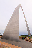 Gateway Arch is a 630-foot (192 m) monument in St. Louis, Missouri. Clad in stainless steel and built in the form of a flattened catenary arch, it is the tallest man-made monument in the United States, Missouri's tallest accessible building, and the world's tallest arch.Built as a monument to the westward expansion of the United States, it is the centerpiece of the Jefferson National Expansion Memorial and has become an internationally famous symbol of St. Louis.