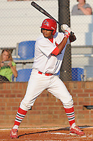 Johnson City Cardinals Kleininger Teran at Howard Johnson Field in Johnson City, Tennessee July 6, 2010.   Johnson City won the game 6-5.  Photo By Tony Farlow/Four Seam Images