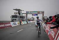 European U23 Champion Quinten Hermans (BEL/U23/Telenet-Fidea) finishes 2nd and thus secures his overall winn in the Superprestige U23 series<br /> <br /> U23 men's race<br /> CX Superprestige Noordzeecross <br /> Middelkerke / Belgium 2017