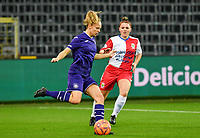 Anderlecht forward Sarah Wijnants (11) pictured during a female soccer game between RSC Anderlecht Dames and Northern Irish Linfield Ladies  in the first qualifying round for the Uefa Womens Champions League of the 2020 - 2021 season , Wednesday 4 th of November 2020  in ANDERLECHT , Belgium . PHOTO SPORTPIX.BE | SPP | DAVID CATRY