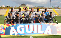 BOGOTA -COLOMBIA, 14-02-2017. Team of Tiigres FC.Action game between  Tigres FC  and Deportivo Pasto  during match for the date 3 of the Aguila League I 2017 played at Metropolitano de Techo stadium . Photo:VizzorImage / Felipe Caicedo  / Staff