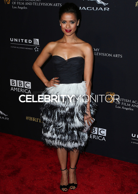 BEVERLY HILLS, CA, USA - OCTOBER 30: Gugu Mbatha-Raw arrives at the 2014 BAFTA Los Angeles Jaguar Britannia Awards Presented By BBC America And United Airlines held at The Beverly Hilton Hotel on October 30, 2014 in Beverly Hills, California, United States. (Photo by Xavier Collin/Celebrity Monitor)